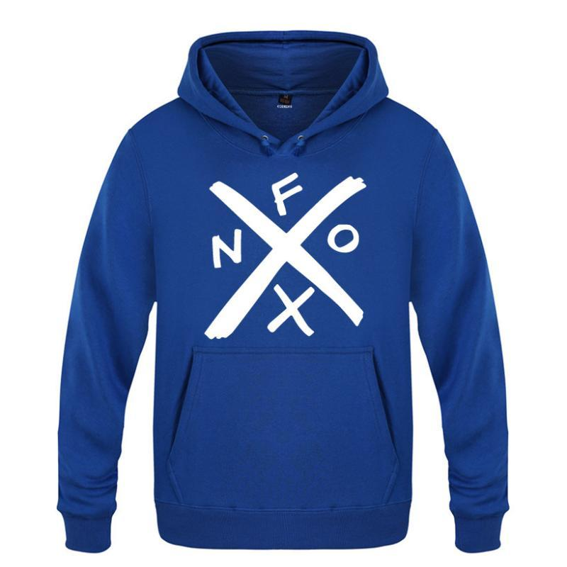 Felpe con cappuccio da uomo NOFX Punk Rock Uomo uomo in pile manica lunga con cappuccio felpa invernale uomo hip hop fitness pullover streetwear moleton m