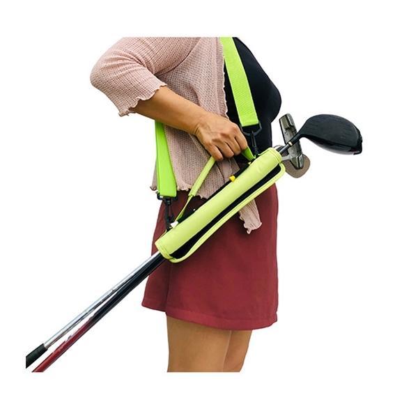1 PCS Golf Club Saco Carrier Carry Driving Range Saco de Viagem Mini Portátil Para Crianças Homens Mulheres Leve Clube de Golfe Carry Bag L0302