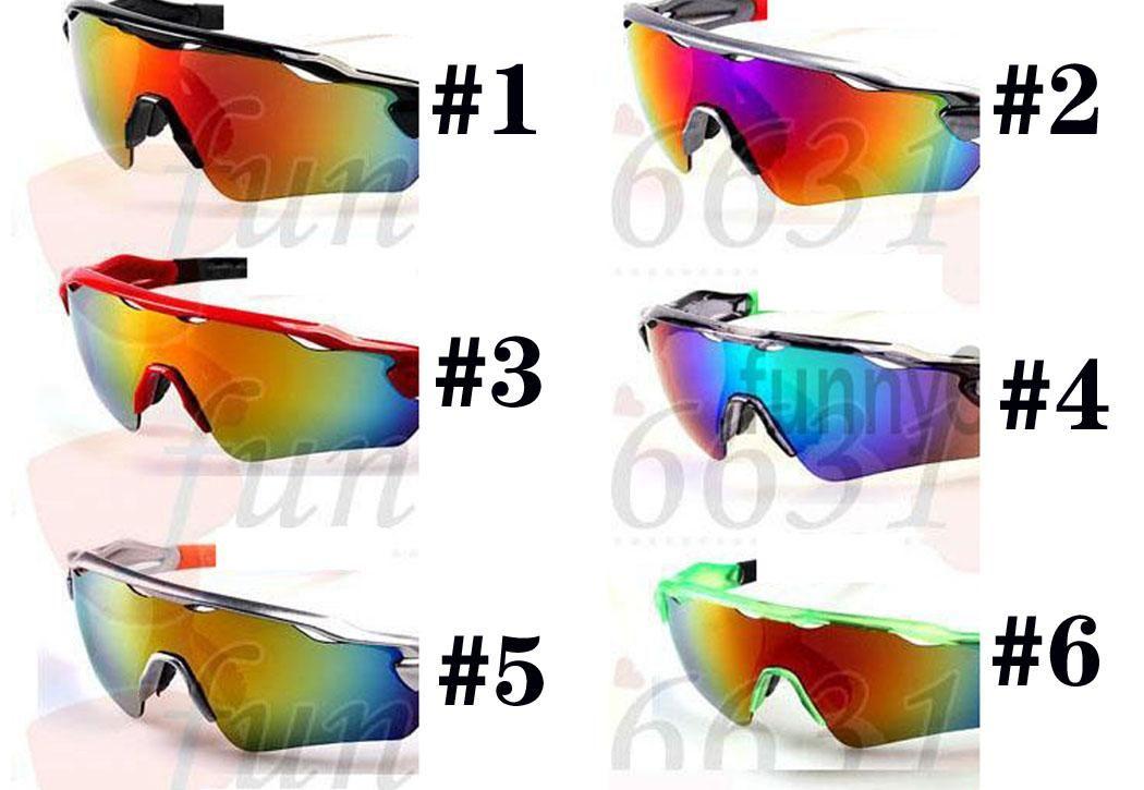 Verano Marca Nueva Moda Gafas de sol Hombre Deportes Eyewear Mujer Ojo 8Colors Ra Dar Bicicleta Vidrio Vidrio Vidrios A +++ 9Colores Envío gratis