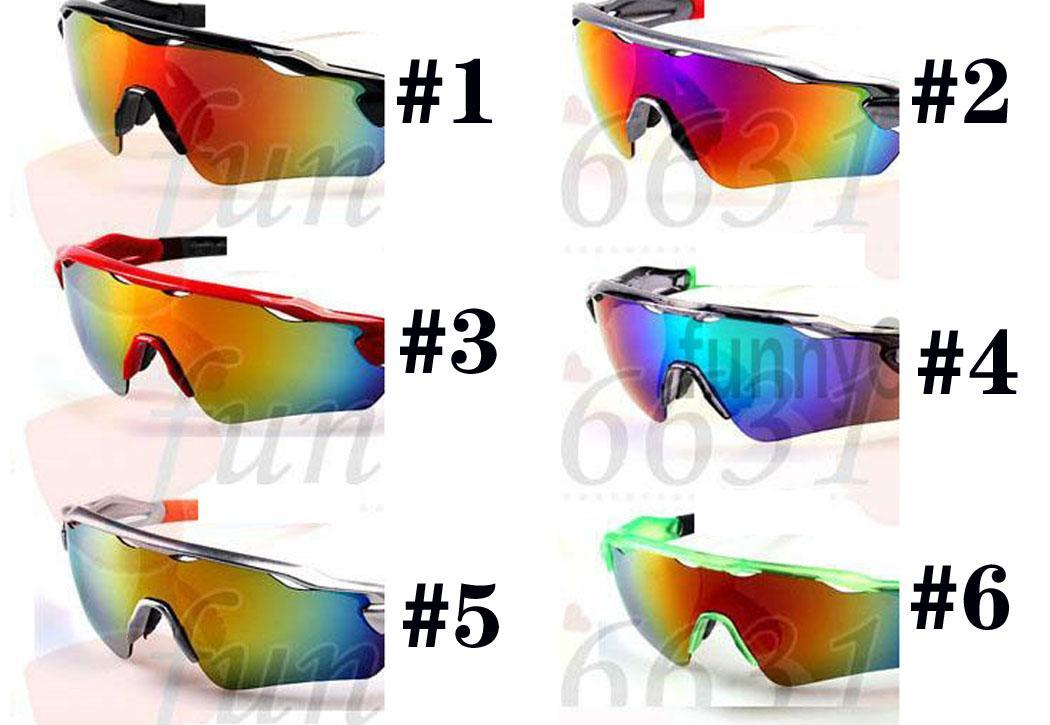 summer brand NEW FASHION sun glasses man Sports Eyewear women Eye 8colors ra dar Bicycle Glass Travel glasses A+++ 9colors free shipping