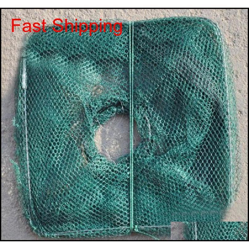 Pesca Bait Trap DIP CAST RED CAGE CREB Minnow Crawdad Shrimp F ZFA HOME2006