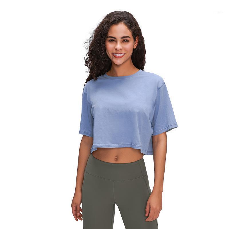 2020 Mulheres Colheita Top Sports Camiseta Tanque Colete Respirável Yoga Gym Fitness Ativo Executivo Atlético Tubo de Caminhada Treino MVsyo1