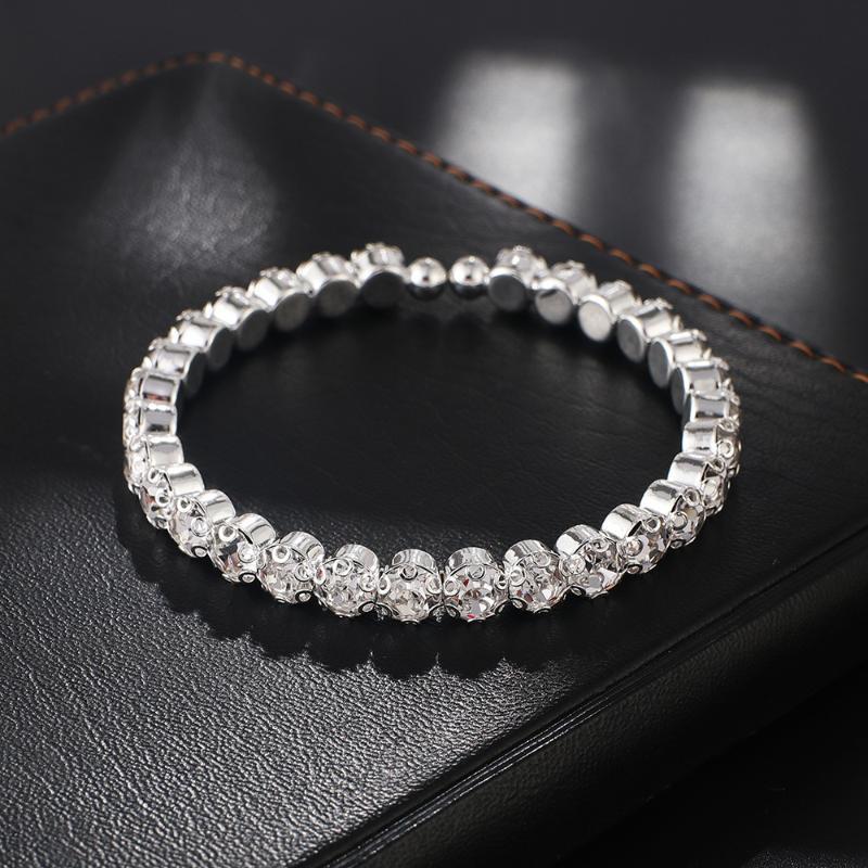 Charm Bracelets Women's 1-row Chain Tennis Bracelet Hip Hop Rock Rap Singer Jewelry Fashion Dancer Party Anniversary Gift