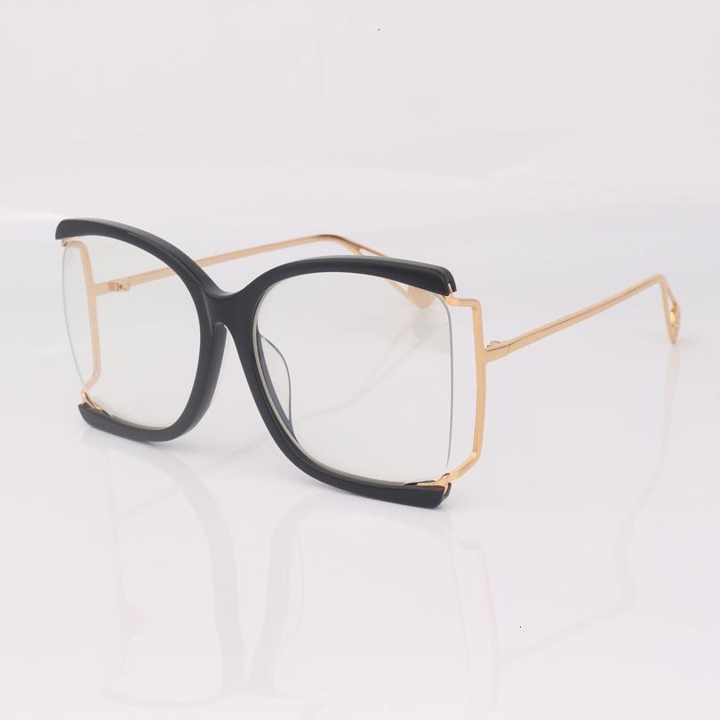 01 квадратных оптических очков наполовину кадра женщины, модные очки для очков женщин