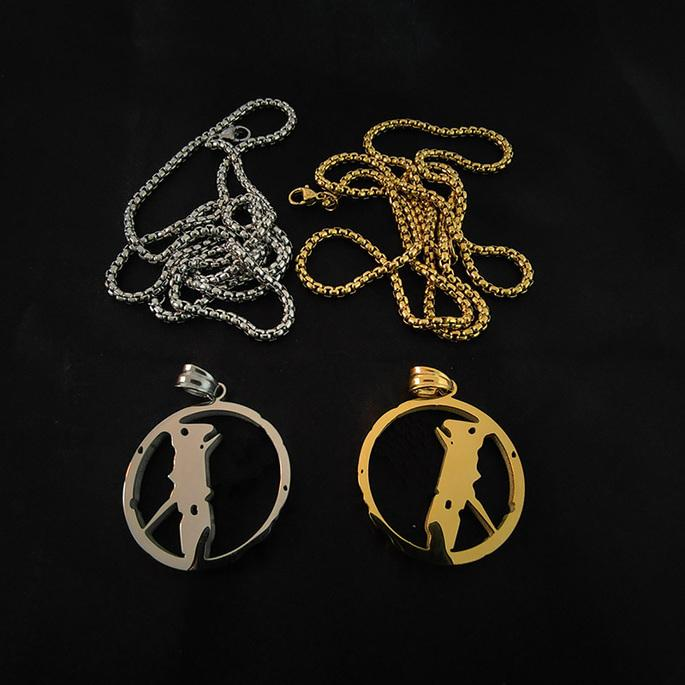 Necklace Mens Womens Pendant Punk Streets Chain Accessories Fashion Rap Singer Hip Hop Jewelry Clothing Accessories_gdy