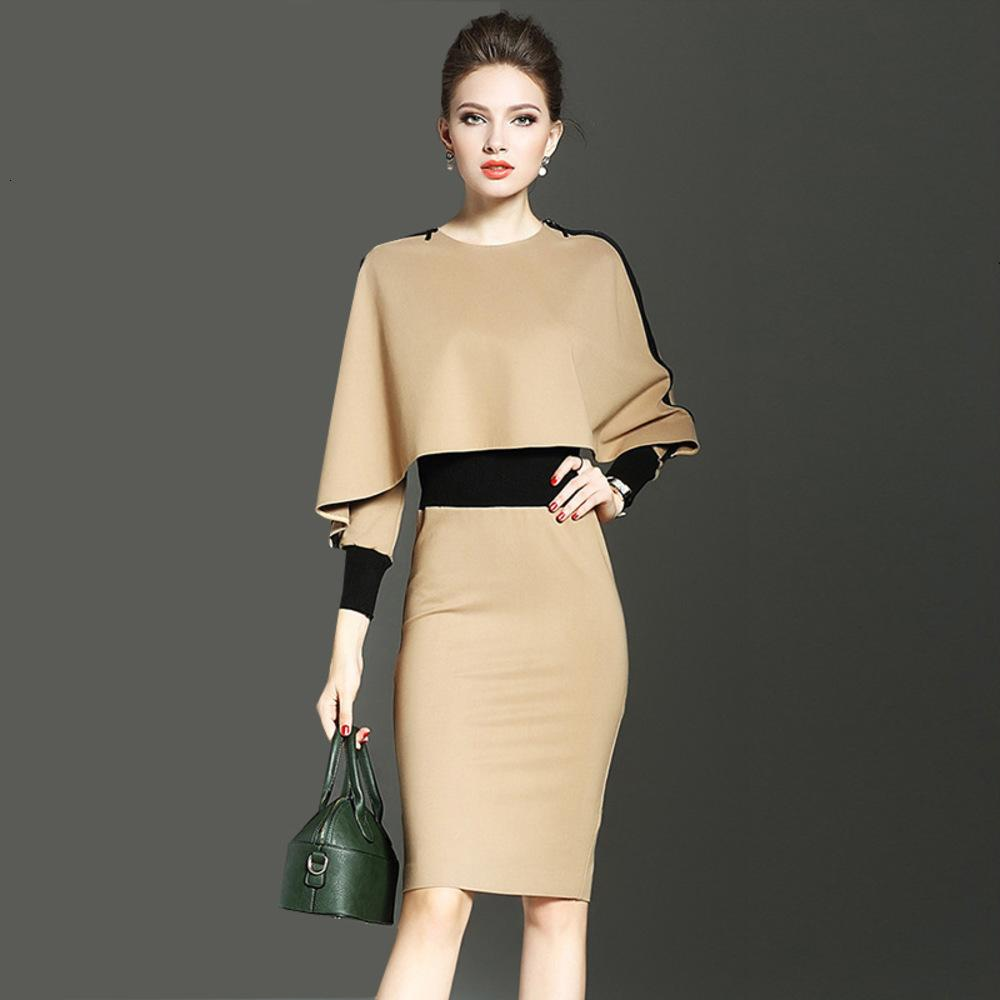 The spring of 2019 the European and American high-end women's fashion together cultivate one's morality package hip bump color cultivate one