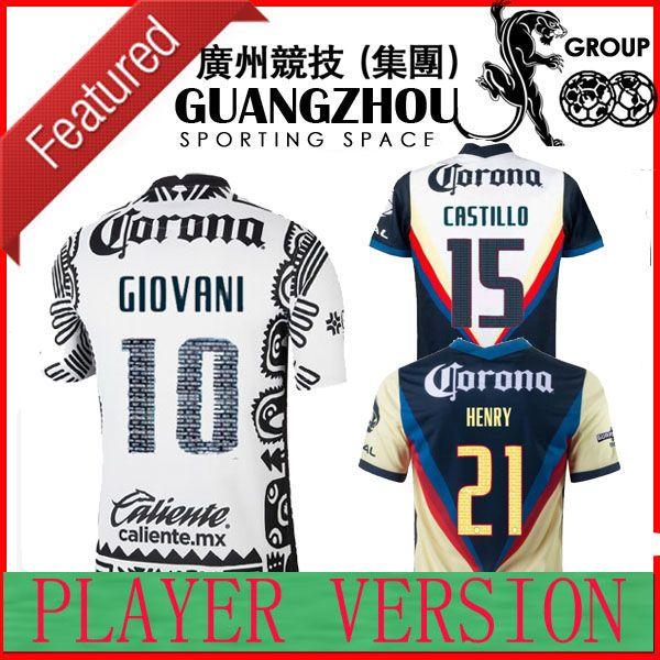 Version du joueur Liga MX 21 22 Club America Soccer Jerseys Troisième Giovani Caceres B.Valdez 2021 2022 Maillot Men Fan Kit adulte Kit de football