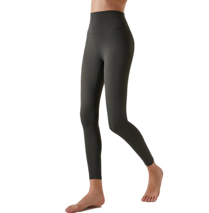 Women Pant Leggings Large Size Nude Yoga Pants Women's Tight Sportswear High Waist Comfortable Peach Running Fitness Pants