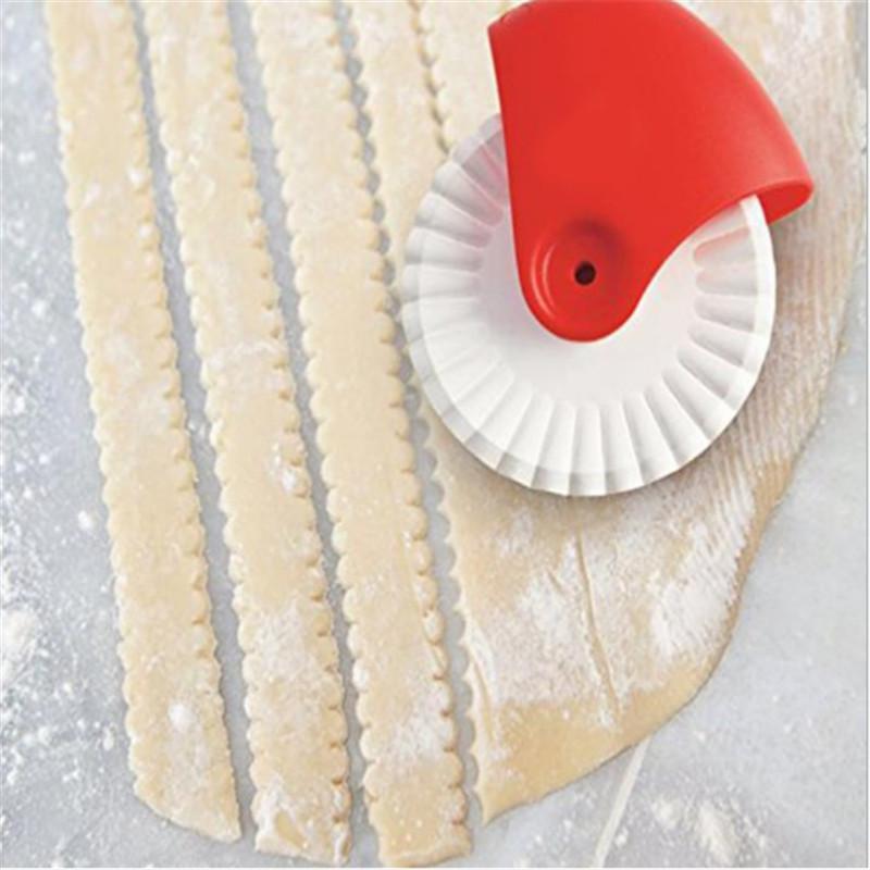 Accessoires de cuisine manuel roue de roue roue roue roue pâte biscuit biscuit découper machine machine à cuisson cuisine cuisine gadget-c