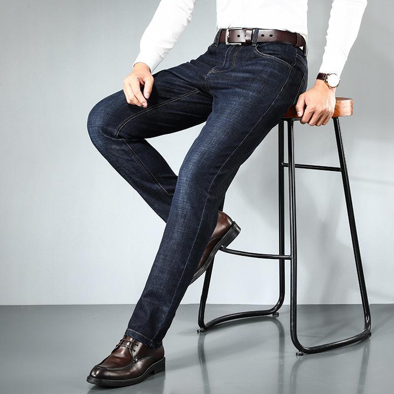 Jeans di fascia alta per gli uomini in autunno e inverno