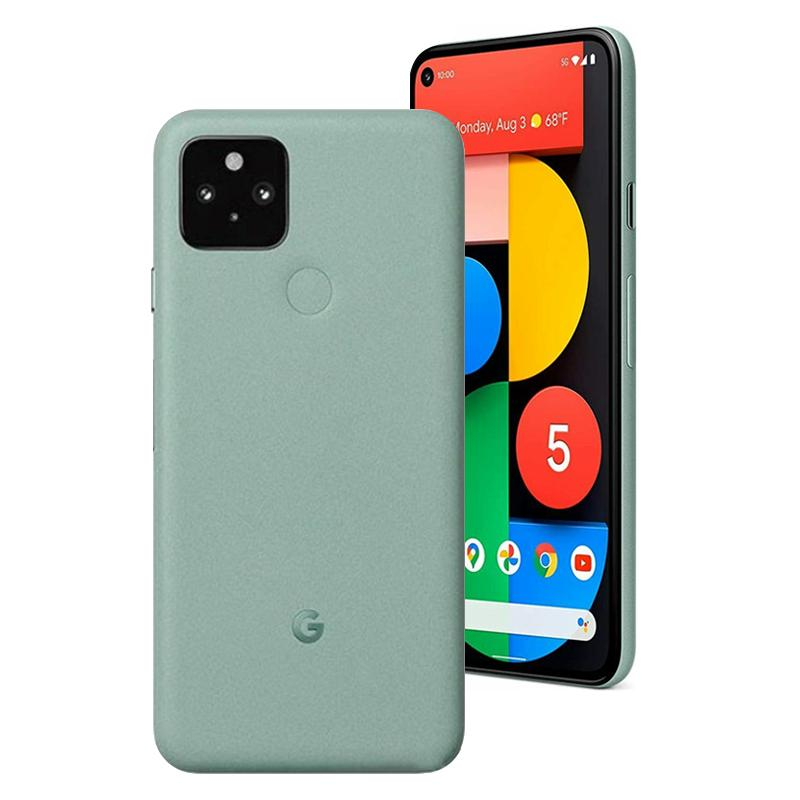 Original Google Pixel 5 5G Mobiltelefon 8 GB RAM 128 GB ROM Snapdragon 765g Android 6,0 Zoll Vollbild 16MP HDR NFC Face ID Fingerprint Smart Mobiltelefon