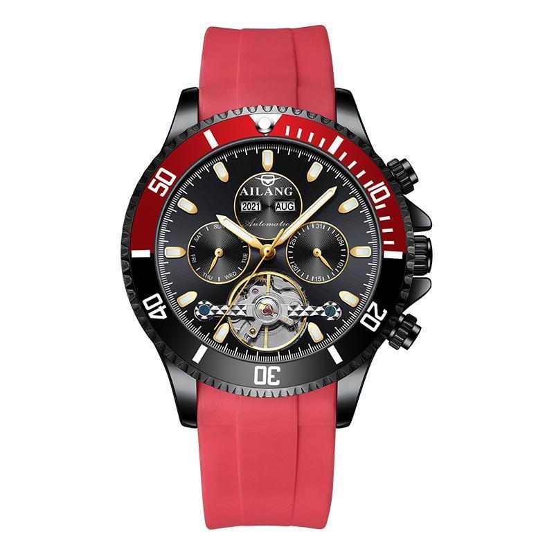 Montres-bracelets Ailang Design Watch Verre minéral Mécanique automatique Mécanique 3ATM étanche Mode classique Mode de luxe