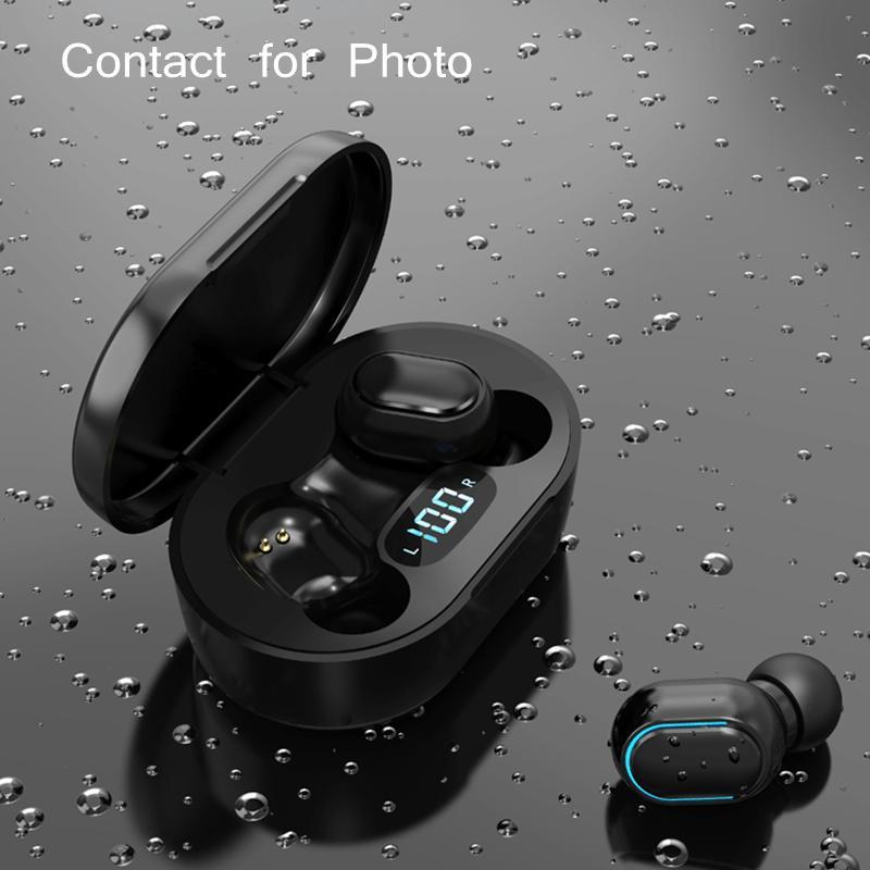 Wirless Earphone earphones Chip Transparency Metal Rename GPS Wireless Charging Bluetooth Headphones Generation In-Ear Detection For Cell Phone AMZ