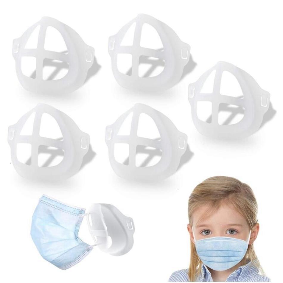 Губная помада взрослого ребенка 3D защитная стойка маска кронштейн внутренняя поддержка для дыхания свободно лицо маски держатель инструмент аксессуаров