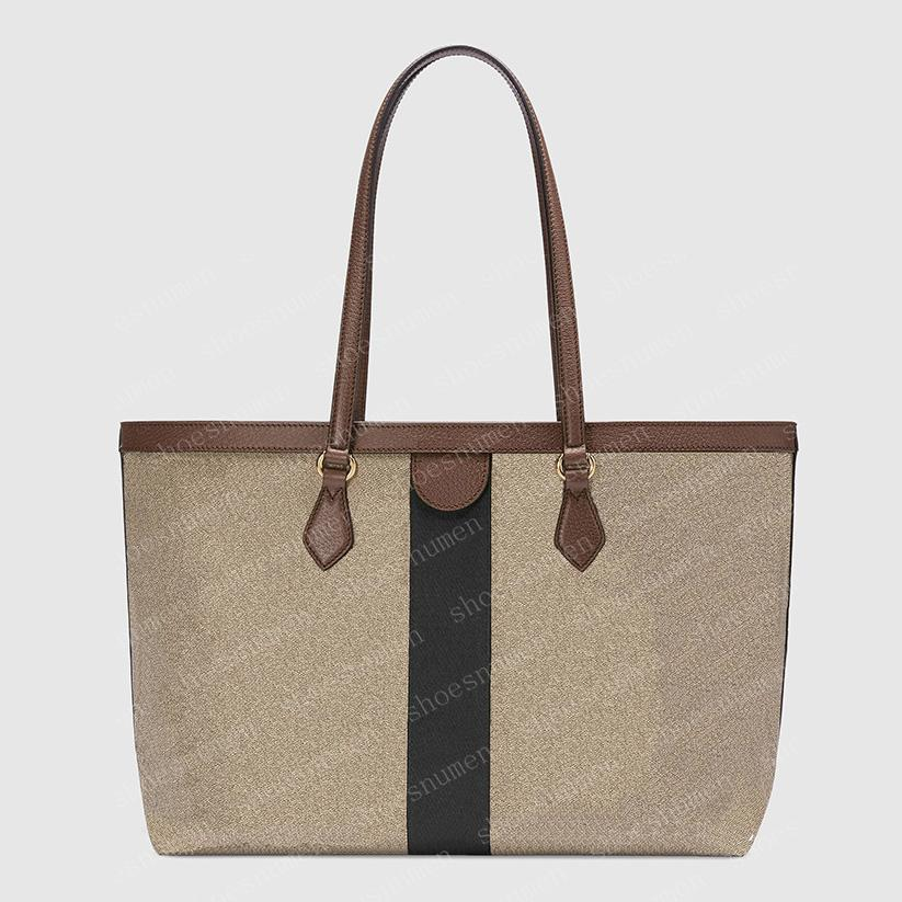 2021 Tote Bag Totes Handtasche Womens Handtasche Geldbörsen Handtaschen Frauen Einkaufstasche Geldbörsen Braune Taschen Leder Mode Brieftasche Taschen 38cm got01 817