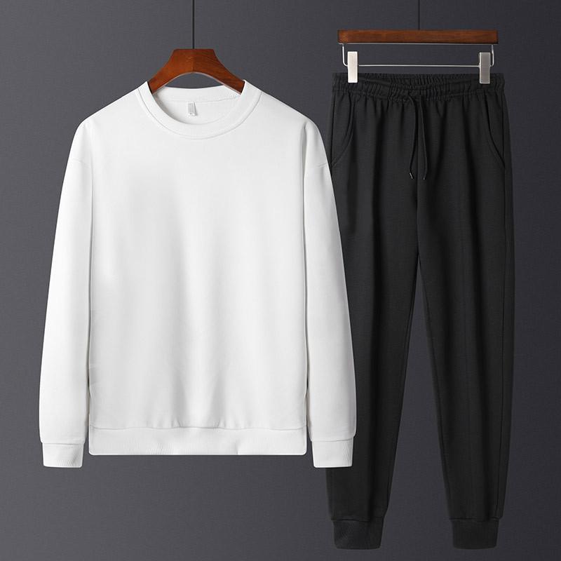 Весна и осень мужской свитер набор молодых студентов красивый высокий двух целый досуг спортивные модные капюшоны