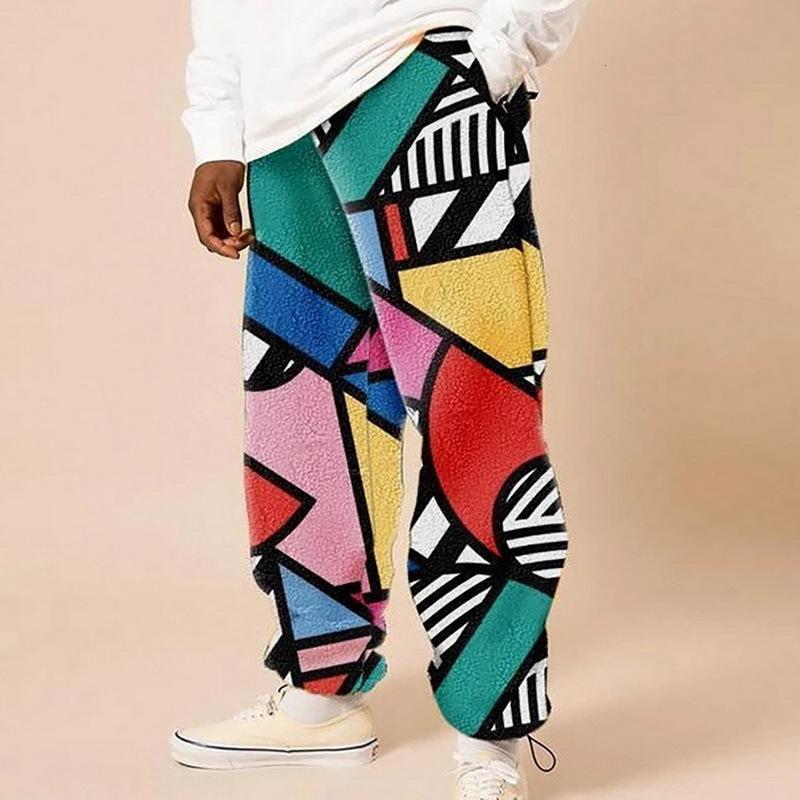 Holgado algodón lino harem hombres hip-hop mujeres más tamaño pantalones de pierna ancha casual vintage pantalones largos pantalones hombre 2021