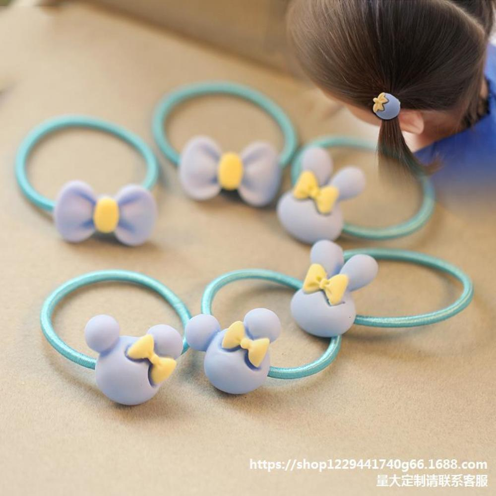 Koreanische Kinder kleine Haarband Prinzessin tut nicht tut niedliches Baby Gummi kleines Mädchen Haarband Stirnband