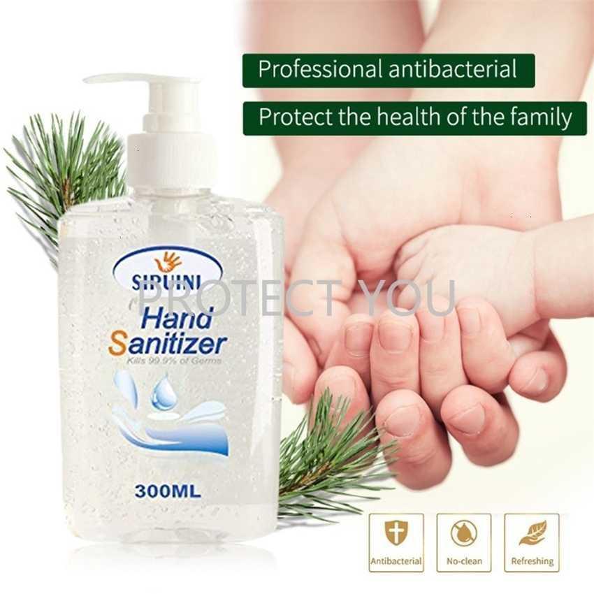 Dezenfeksiyon 300ml Yıkama Anti El Bakteriyel Jel Temizleyici Hızlı Kuru Temizlik için% 75% Alkol Sabunu