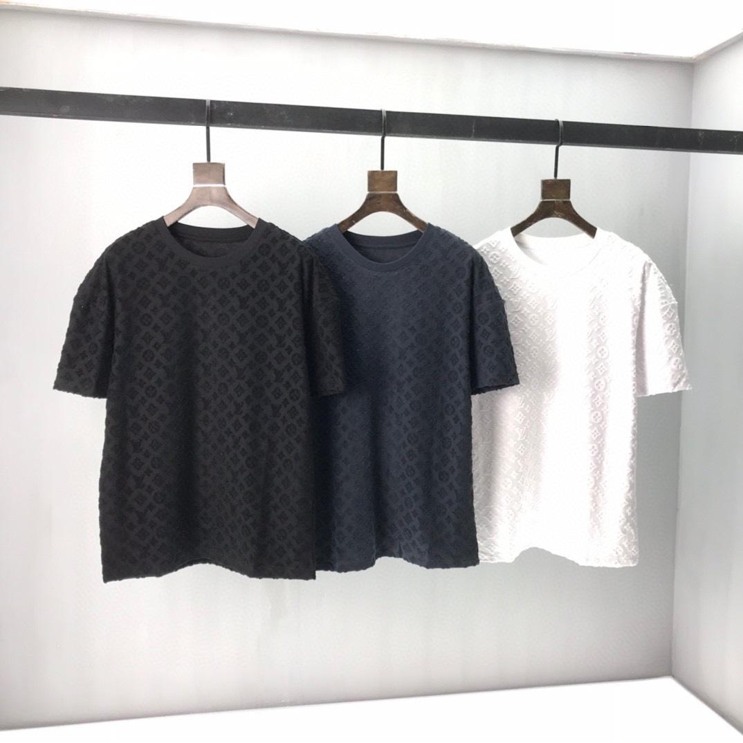 2021 летние новые моды дизайнер мужской красивой печатной футболкой ~ модная футболка ~ мужской дизайнер чудесная короткая рукава футболки NM266