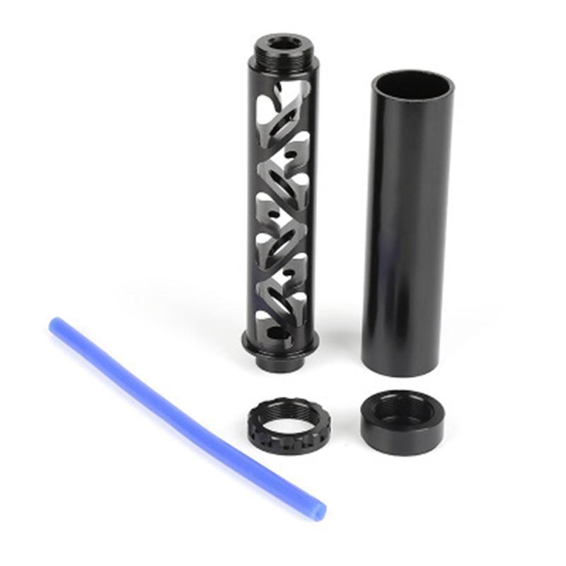 Aluminium 10 pouces Extension de 6 pouces Spirale 1/2-28 ou 5/8-24 Piège de solvant filtre à carburant de carburant pour NAPA 4003 WIX 24003 RS-OFI