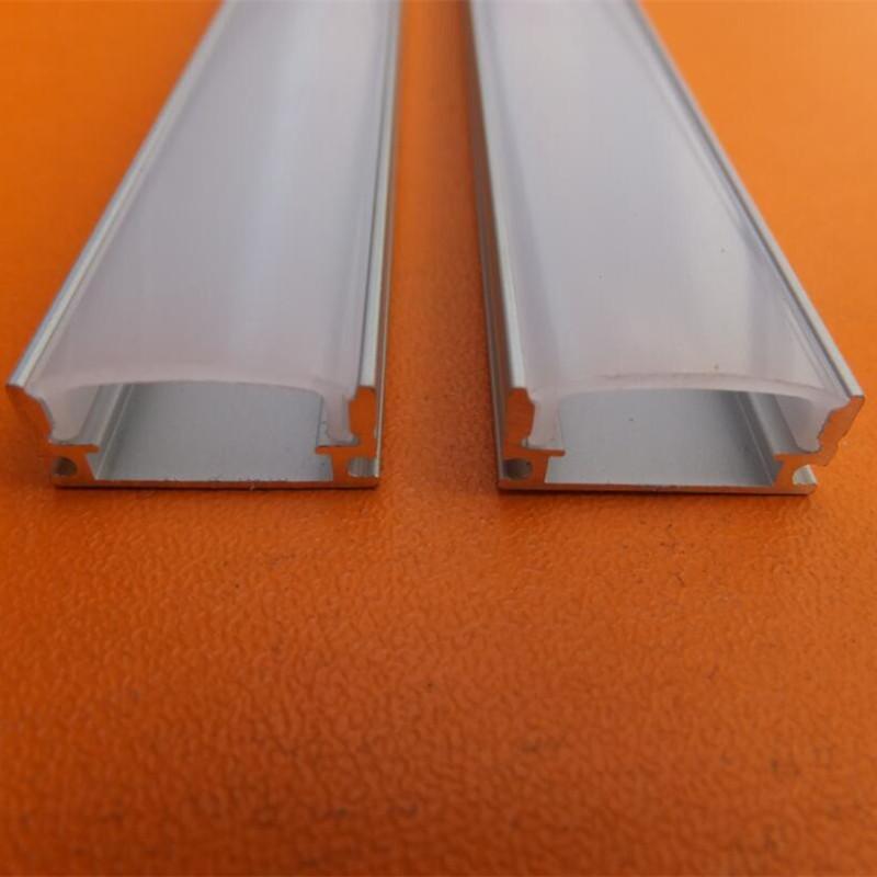 Profilo in alluminio per lampada a barre, canale a spina a LED, alluminio impermeabile