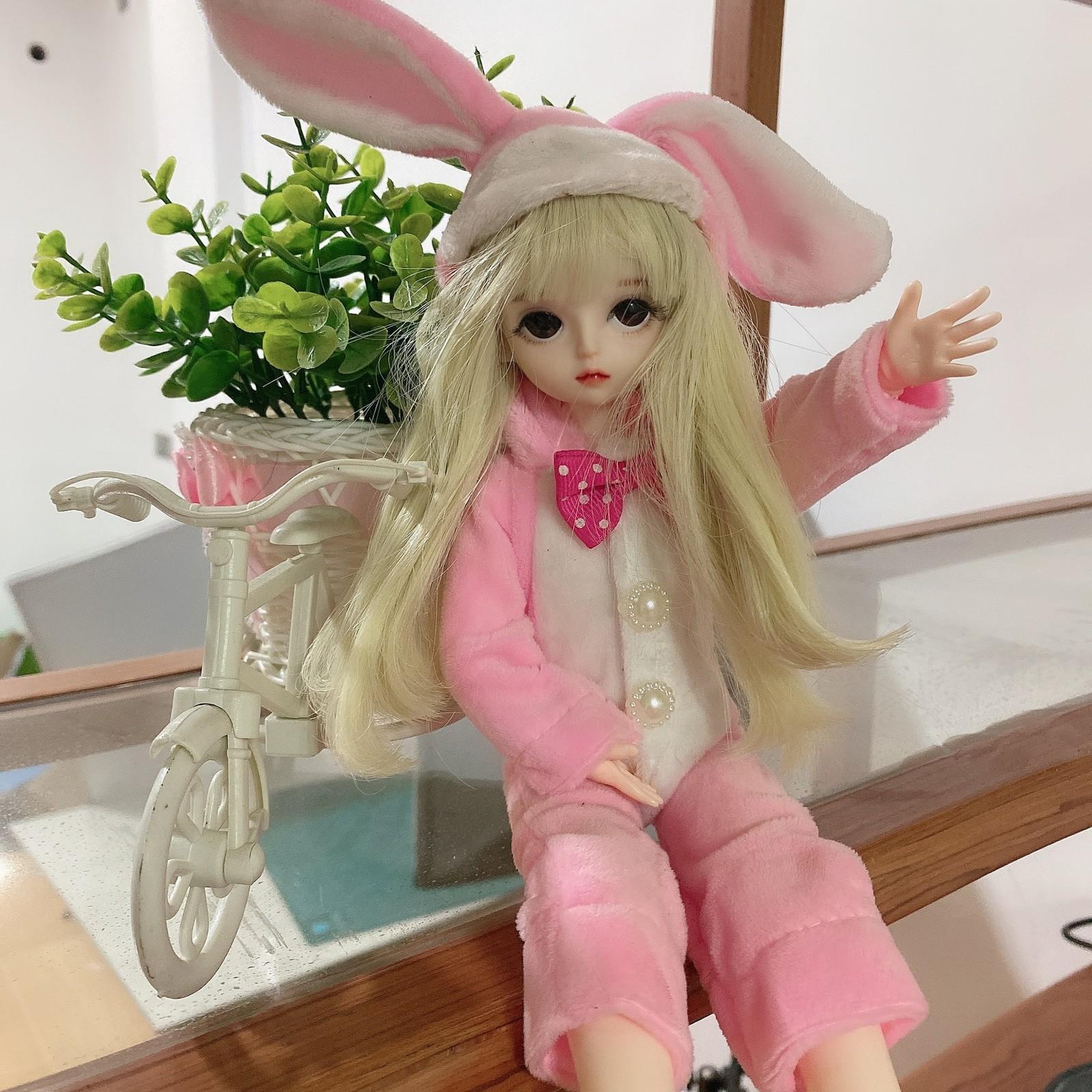 Новый 28 см Симпатичные DIY Кукла Кукол Принцесса OB11 Глава 20 Совместные BJD Макияж Игрушечная Девушка