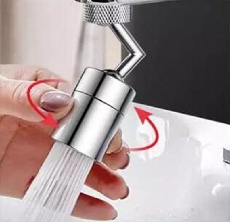Universal 720 Rotation Hahn Belüfter Splash Proof Filter Wasserhahn Schwenk Bewegliche Einsparung Wasser Ersatz Badezimmer Küche Hahn Loch Fauce 134 V2
