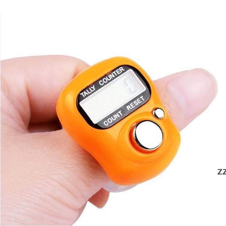 Мини-рука держать полосу подсчеты для ног ЖК-цифровой экран кольцо пальцев электронная головка Count HWB8471