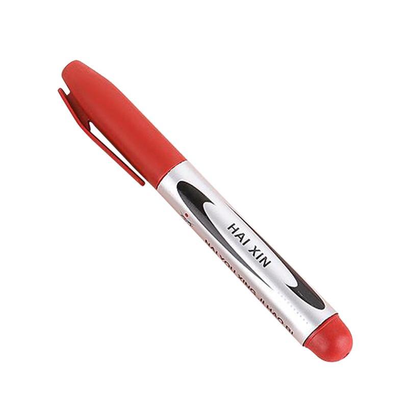 Постоянный маркер ручка черный / красный / синие чернила художественные маркеры сырой ручкой студенческие школьные офисные канцтовары Kissbuty