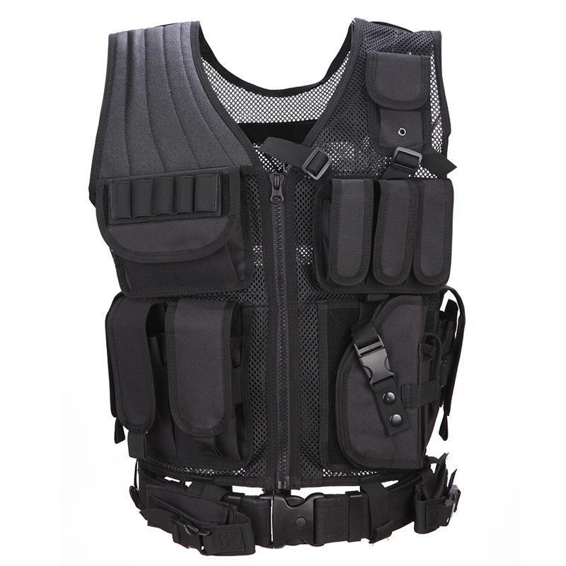 Abbigliamento Gilet Tattico Chemise Chemise Militaire Uniforme Militar Army Combat Camicia Colete Tatico Caccia Gilet multi-funzionale