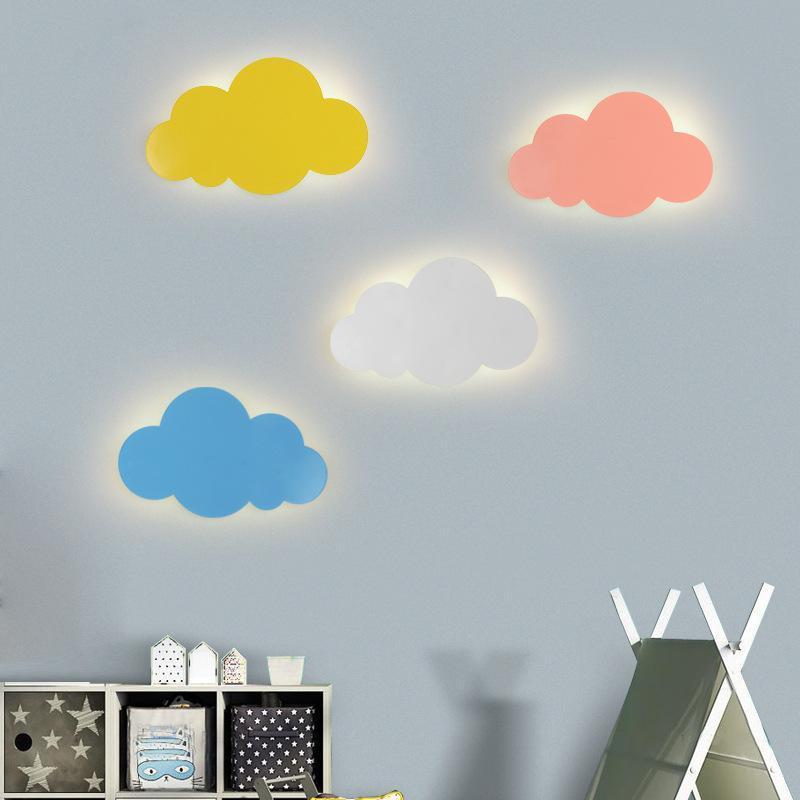 Kinderzimmer Wandleuchte Wolke Lampe Einfache Moderne Jungen und Mädchen Cartoon LED Wand Nordeuropa Schlafzimmer Nachttisch