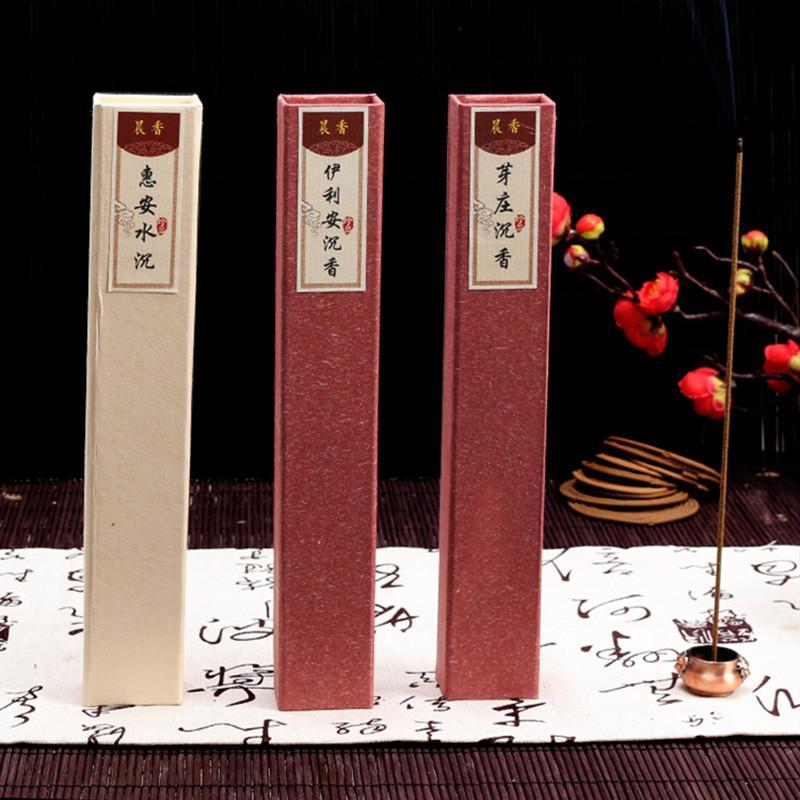 35 teile / box Natürliche handgefertigte Aromatherapie Weihrauch Lavendel Jasmin Weihrauch Sticks Meditation Aroma Duft Home Teehaus Düfte