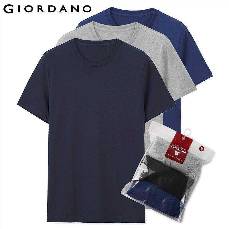 Erkekler T Gömlek Pamuk Kısa Kollu 3-paketi Tshirt Katı Tee Yaz Beathable Erkek Giyim Camiseta Masculina Tops 01245504 210629