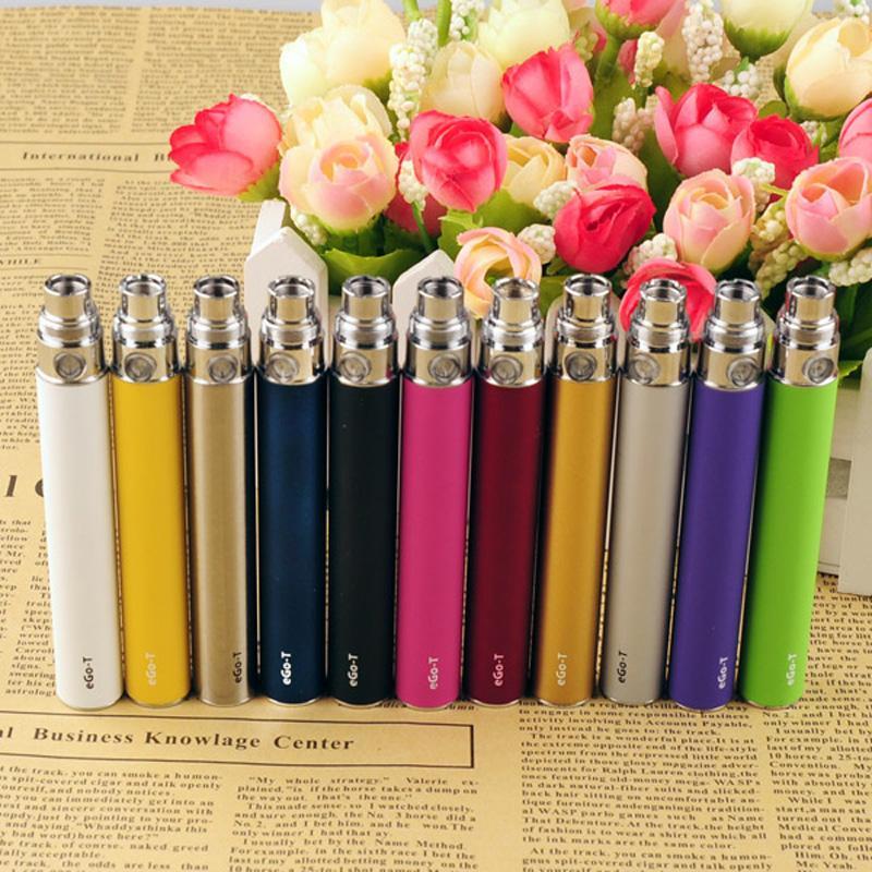 EGO-T EGO T E Sigaretta 650/900 / 1100mAh Batteria per CE4 CE5 CE6 MINI PRINCIA 2 3 MT3 Atomizer Clearomizer colorato