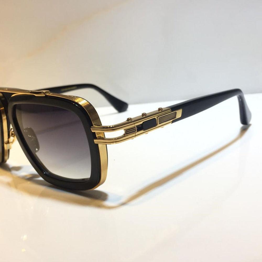 Neue Mode Großhandel Sonnenbrille UV-Schutz für Männer und Frauen Vintage Rechteck Planke Metallrahmen Beliebte Top Qualität Marken Objektiv Unisex