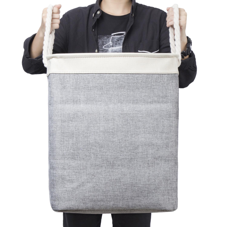 سلة التخزين المنزلية لعبة الملابس القذرة تخزين سلة لطي القطن الكتان الغسيل سلة سعة كبيرة تخزين المنزل XD24538