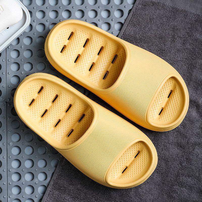 Duoyi New Shoes Mujeres antideslizante Grueso de verano Verano Hogar Casas Casas de baño Parejas Indoor Female Slipper Cómodo 210301