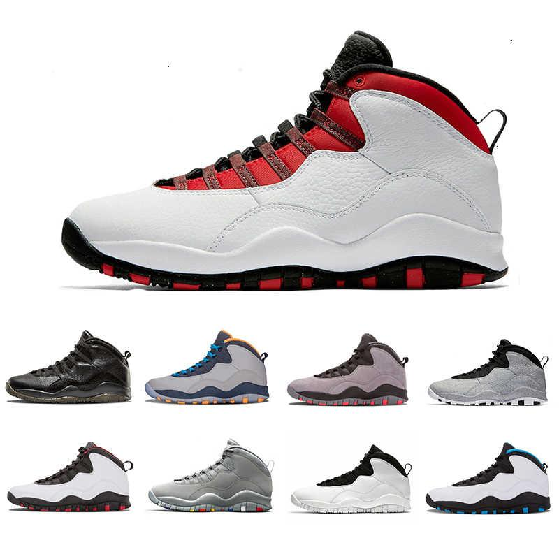 10 10s мужская баскетбольная обувь Westbrook New Cement Я обратно Bobcats Chicago Cool Grey Powder Blue Ste Nakeskin Hot