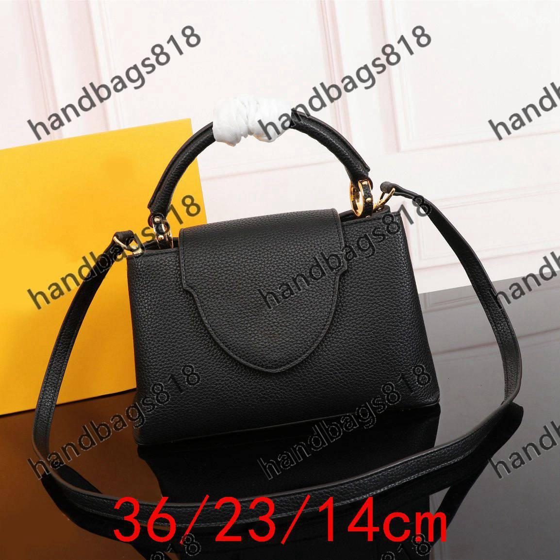 Totes Mesdames Classic Fashions Fashions Tempérament Crossbody 2021 Beautiful Mode Sacs fourre-tout Sacs à main en cuir de voyage Handbag 919 Lady Sac Femmes FC04-06