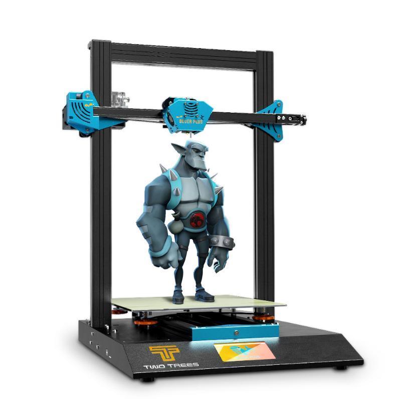 Printers Twotrees 3D Printer BLUER PLUS FDM MKS Board BMG Extruder 0.9 Stepper Motor Impresora Automatic Level PEI Sheet TMC2209 DIY