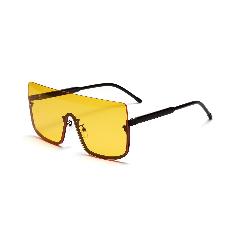 Солнцезащитные очки 2021 Новый тенденционный продукт негабаритных женщин мужские дизайнерские очки мода ретро оттенки очки солнцезащитное стекло LVNG 4U09