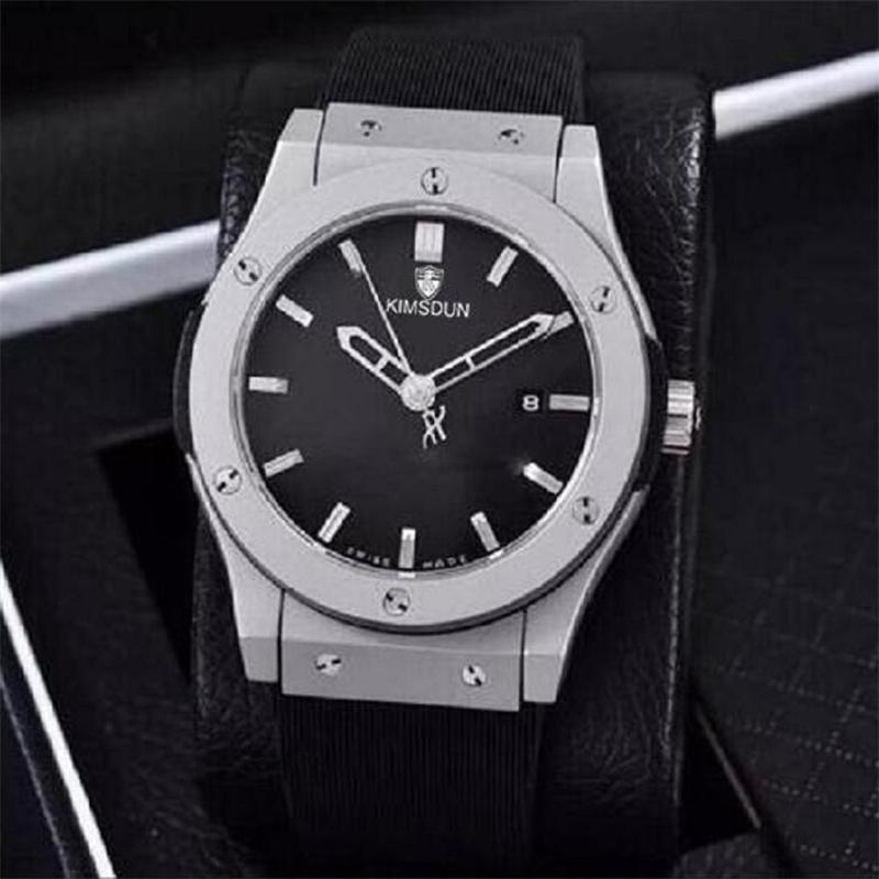 고급 망 자동 기계식 시계 중공 시계 클래식 퓨전 다기능 구멍 패션 방수 빛나는 남자 스포츠 손목 시계