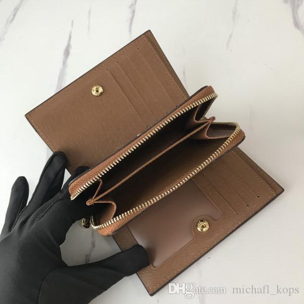 Hohe qualität berühmte brandneue hase reißverschluss brieftaschen leinwand kurze wallter geldbörse kartenhalter geldtasche Diese Brieftasche hat Staubsack-Tags-Box