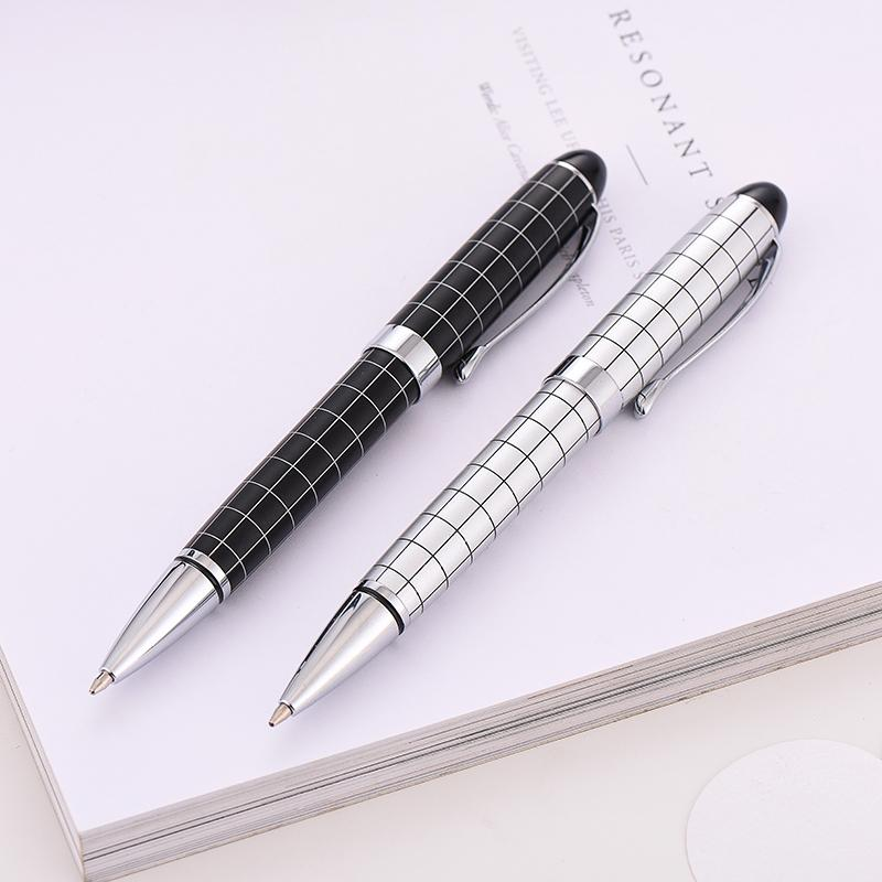 2021 415 Student Black Ballpoint Pen Metal High Quality Gift Ball Pens Office Signature Writing Style supplies