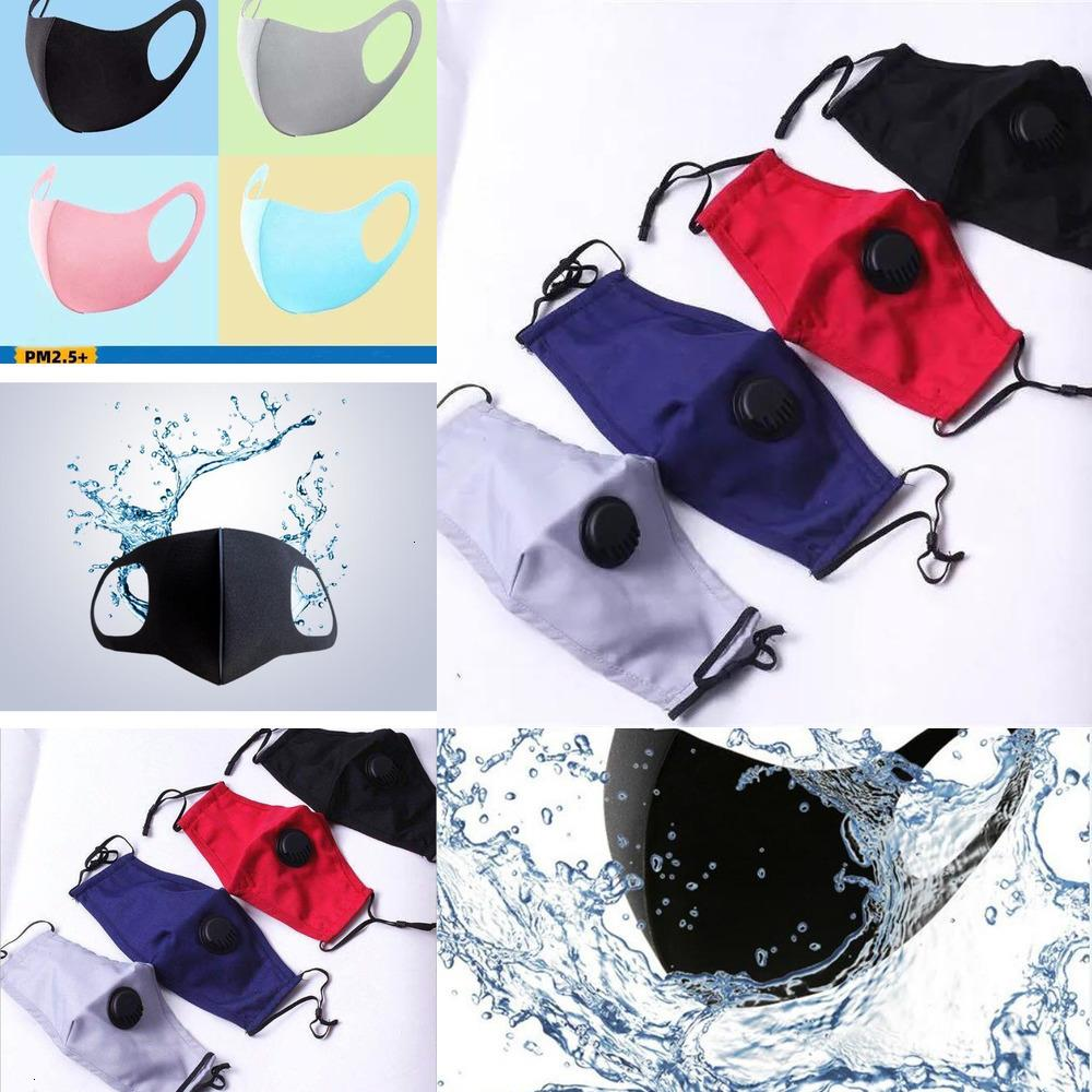 With Polyurethane porous breathing Anti-Dust valve Mask Face Smoke Pollution Washable Reusable high quality safer Mask PD3IU