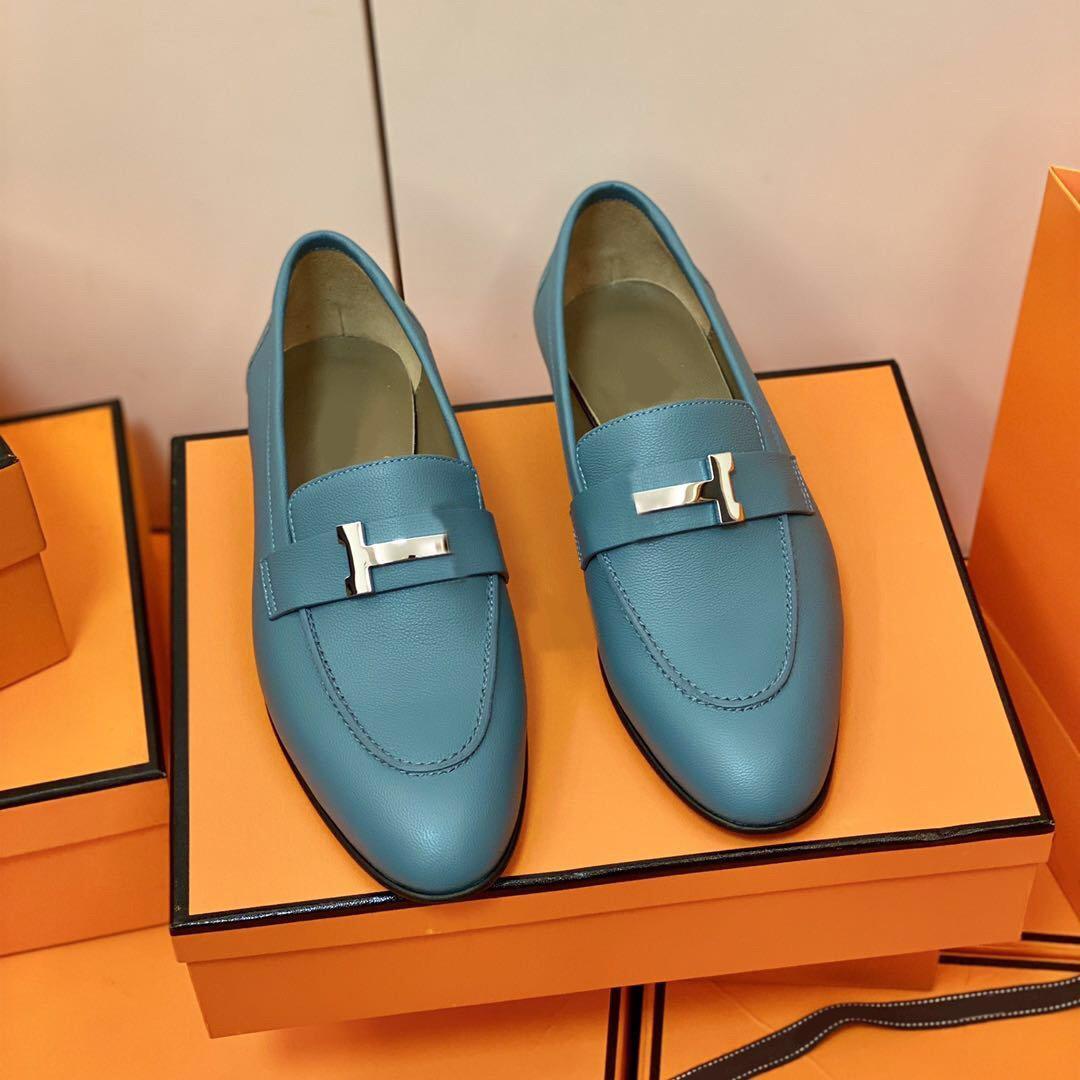 2021ss en kaliteli tasarımcı lüks kadınlar rahat ayakkabılar buzağı derisi minimalist spor bir çift ayakkabı son dört mevsim boyutu35-42