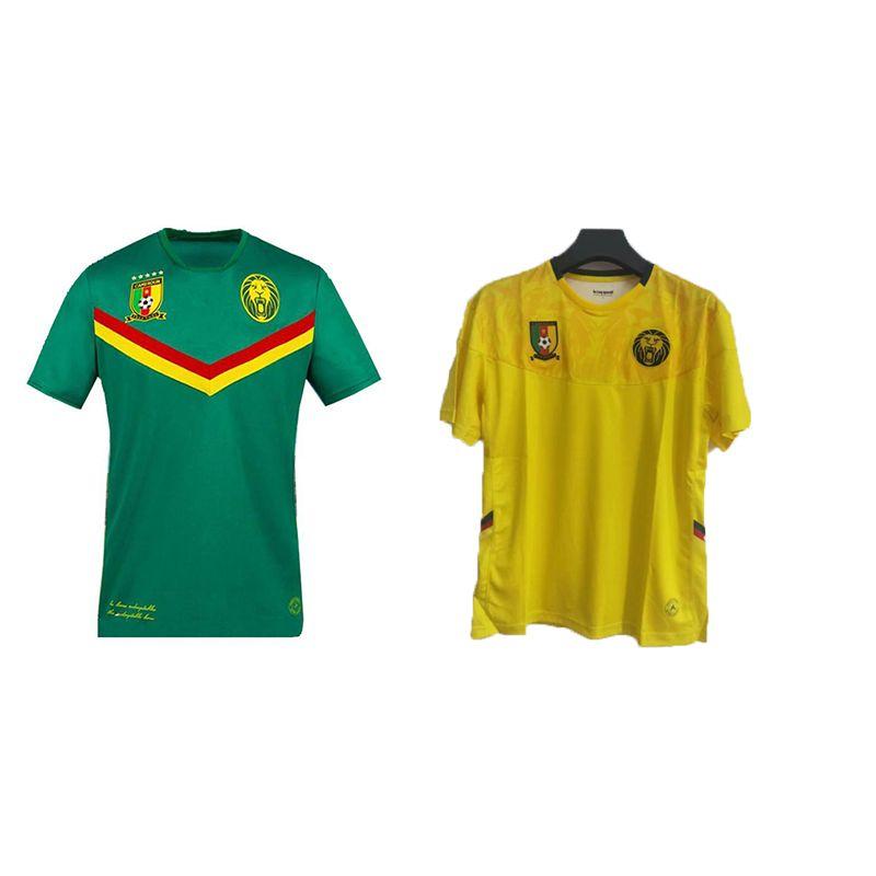 Acquista Top 2021 2022 Camerun Soccer Jerseys Casa Away Choupo Moting Anguissa Oyongo Njie Aboubakar Ekambi Bahoken 21 22 Camicie Da Calcio A 12,17 € ...