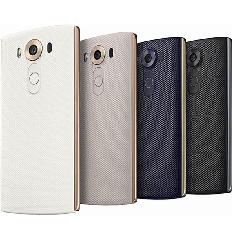 Оригинальный разблокированный LG V10 4G LTE Android телефонов Hexa Core 5.7 '' 16.0MP 4 ГБ RAM 64GB ROM WiFi GPS мобильный телефон