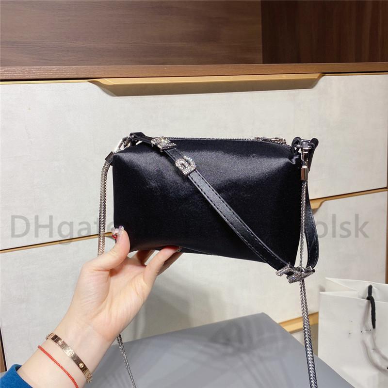 Classic Luxurys Designers Sacs Lady Fashion Soie Diamonds Bandbody Sac de haute qualité Lettre Sacs à main Totes Sac Femmes 3A Sacs à bandoulière Caméra